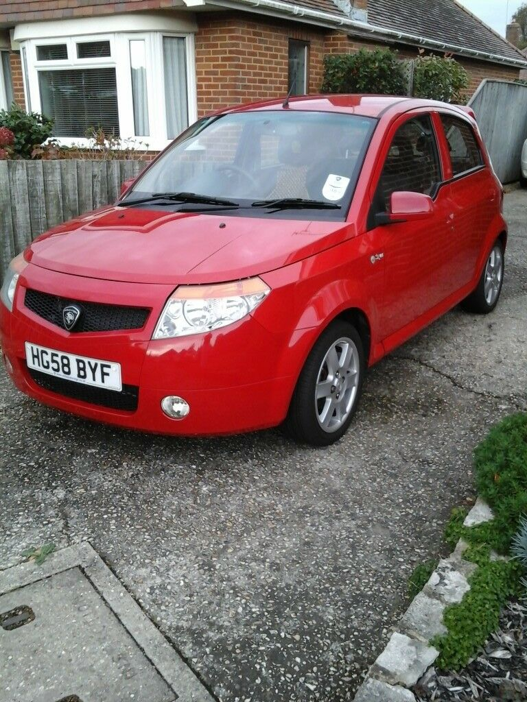 Proton Savvy Style 2008 - Red - Very low mileage 14k - One previous owner