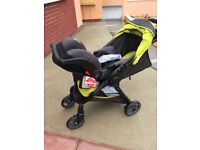 Graco Fast Action 2.0 Stroller with Baby Seat, Brand new, unused.