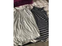 2 Maternity dresses size 12