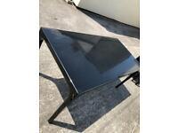 Habitat Black Gloss Dining Table & Chairs