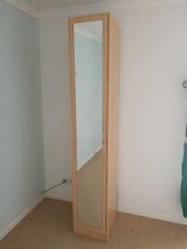 Brilliant condition single mirrored wardrobe