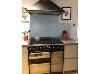 Smeg Range oven with induction hob & extractor hood