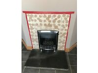 Excellent condition gas fire