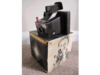Vintage 1970's Polaroid Super Swinger Land Camera & Original Box