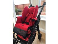 Jane MatrixCup Travel System with Two Car Seats & Isofix