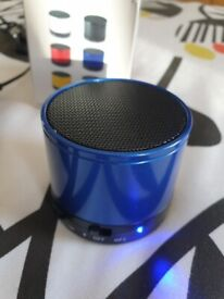 Compact but powerful rechargeable Bluetooth speaker