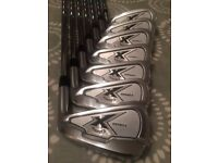 Callaway X Forged irons 4-PW. Stiff shafts, +1/2""