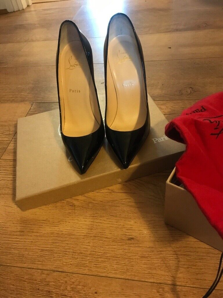 best sneakers 4e434 d6892 Christian Louboutin Pigalle 120 size 6 (39) | in Bromsgrove, Worcestershire  | Gumtree