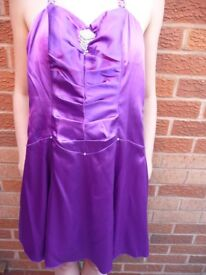 Latin dancing/prom night (designer Morgan & Co) occasion x 2 dresses. Also matching shoes.