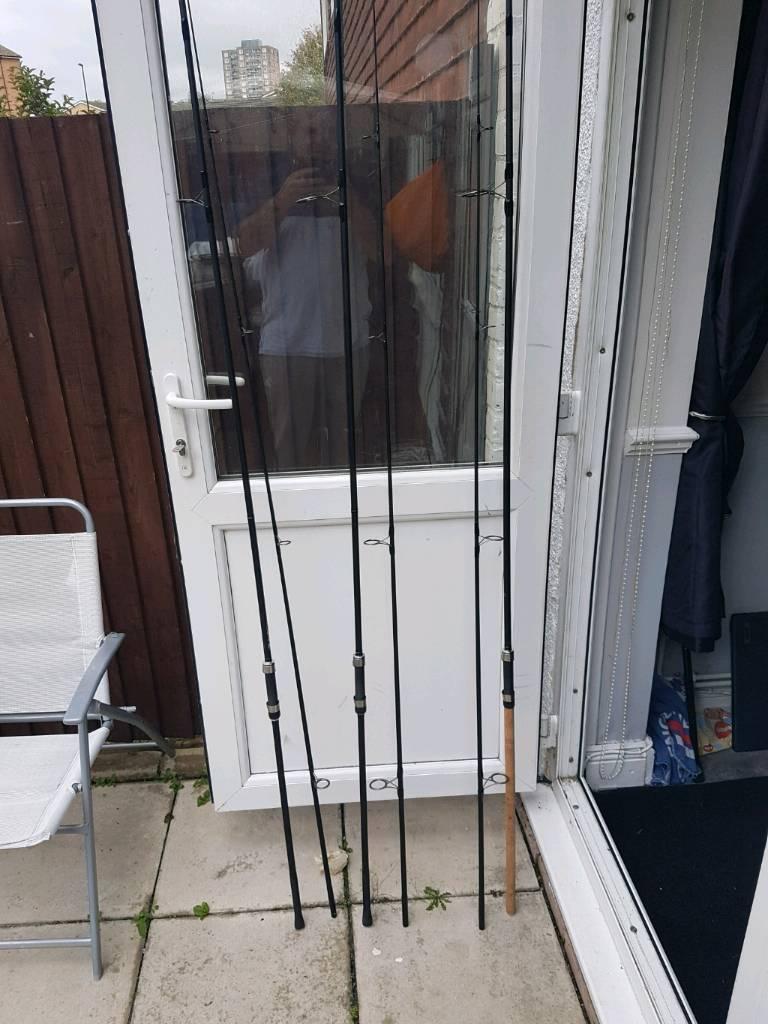 Nash carp rods like brand new