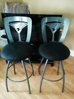 3 matching bar stools for sale