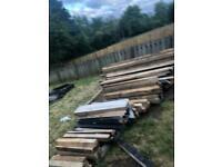 3x3 wooden posts