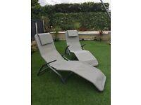 Summer recliners x 2
