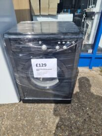 INDESIT 7KG black washing machine with 6 months warranty and delivery