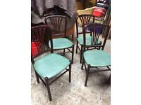 Chairs x4