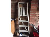 Shabby chic step ladders