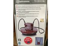 Amplicomms TV250NL wireless headset for use with TV/radio