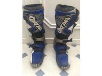 Motercross boots size EU43 US 10