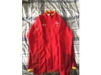 Wales players anthem jacket