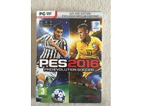 New Sealed PES 2016 Day One Edition PC