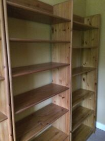 John Lewis Pine Bookcases - 4 Available