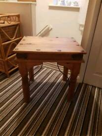 Mexican pine table.