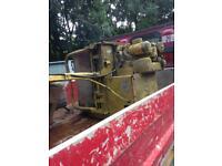 Bomag diesel roller lister engine £350