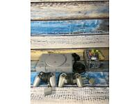 Playstation 1 Ps1 Console Bundle 6 games 2 controller Ready To Play 4. Christmas