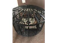 WWE Elimination Chamber Ring and 8 wrestlers