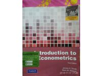 Introduction to Econometrics by Stock and Watson