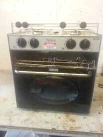 Boat cooker Nelson. Excellent condition. 2 burner hob, grill and oven.