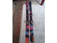 """Armada Skis 5'4"""" in length and Head Ski Boots ( 277 )in good condition"""