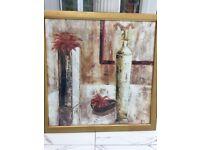 "Large framed print veronique mansart claire,""Harmonie 11"" Lovely still life print,"