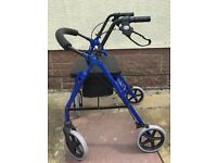 4 wheeled mobility walker £20