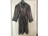 Isabella Olivier maternity sparkle sequin dress size 8 (new) wedding, ascot races, occasional