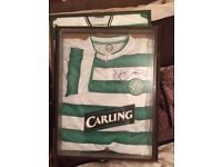 Genuine Signed Celtic Jersey's for sale