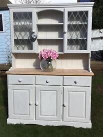 Beautiful Solid Pine Shabby Chic Dresser