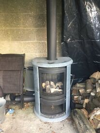 Brabus gas fired wood burner