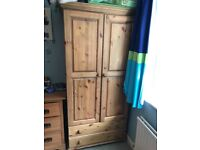 Pine Wardrobe - sold subject to collection