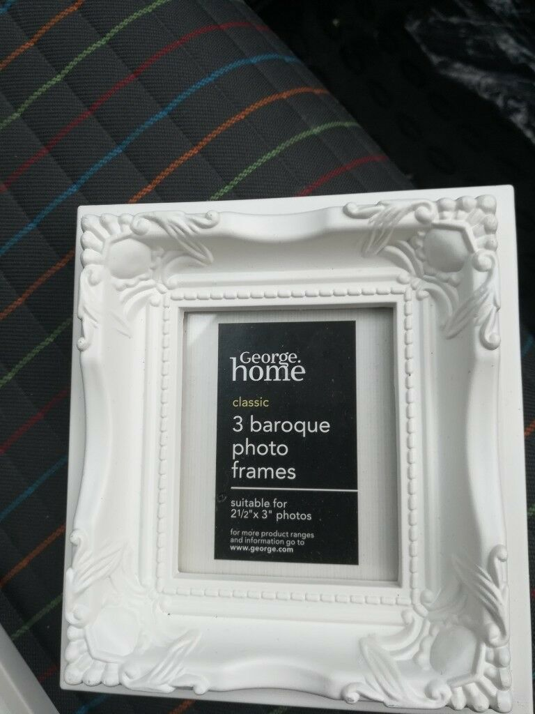 Baroque Photo Frames Packs Of 3 150 I Have Loads 2 And Half Inch