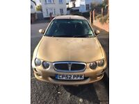 Rover 25 spares or repairs - £300 ONO - drive away today