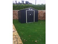 |** HIGH QUALITY - STEEL GARDEN SHEDS FOR SALE **|