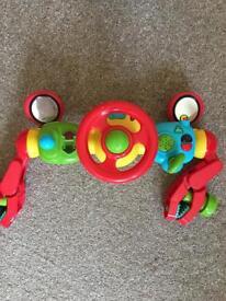 Steer wheel toy