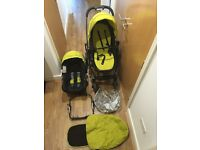 Graco car seat and pushchair