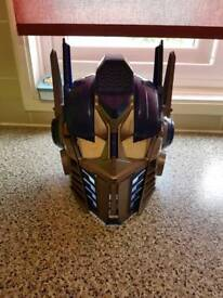 Transformer talking mask