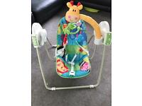 Fisher Price Rainforest Folding Baby Swing
