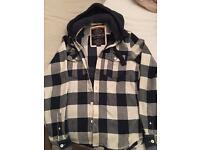 Superdry Large shirt jumper jacket