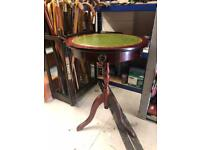 Round table with drawer