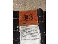 Brand new Evisu Jeans