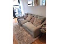 Loaf Oscar Sofa for sale, Duck Egg Blue, 3 Seater